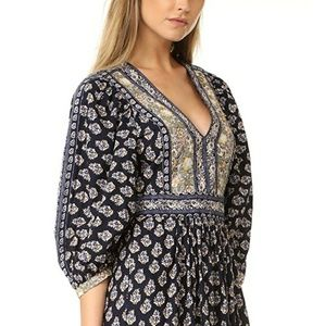 La Vie Rebecca Taylor Indienne Dress size L NWOT